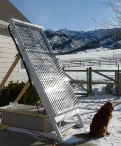 Solar Panel water heater