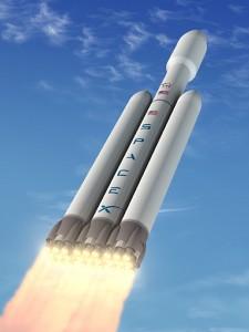 SpaceX Falcon Rocket