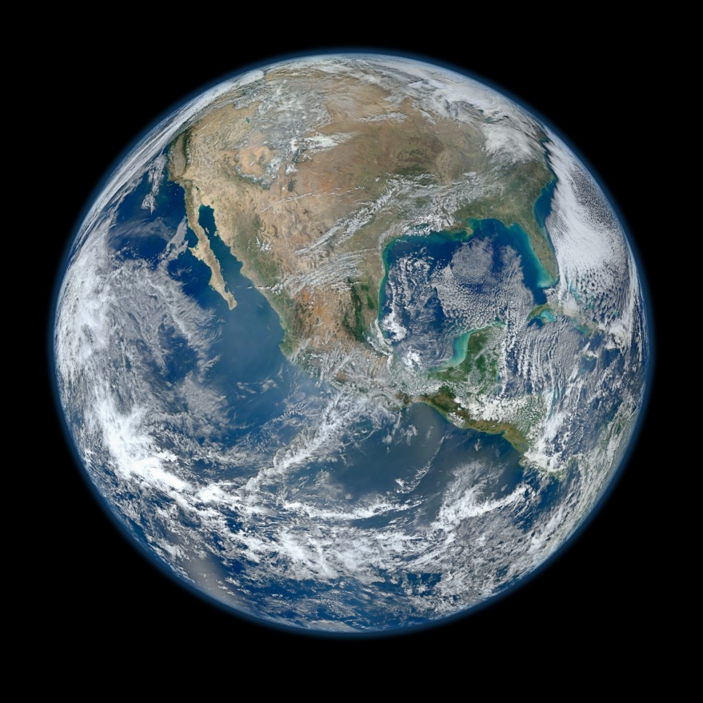 VIIRS Blue Marble Image January 2 2012