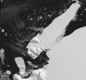 Ross Iceberg B15 March 2000