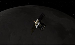GRAIL Spacecraft at Mooon
