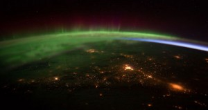 ISS Northern Lights