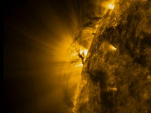 SDO images of tornados on sun