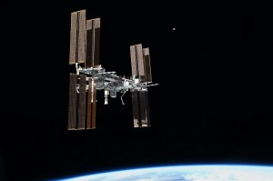 ISS STS 135 Fly Around Image.