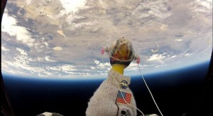 Rubber Duck in Space
