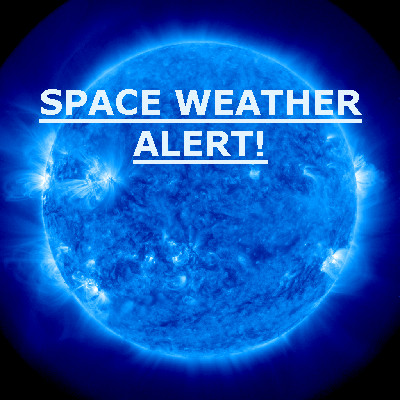Solar Storm Warning: A Coronal Mass Ejection (CME) is Expected to Hit Earth's Magnetic Field Spaceweather_alert