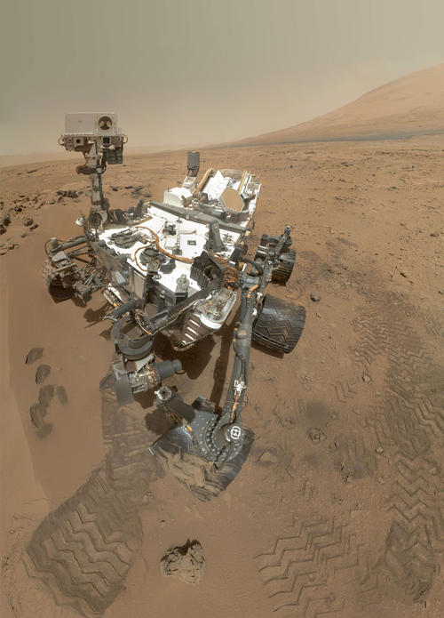 MSL Rover Self Portrait