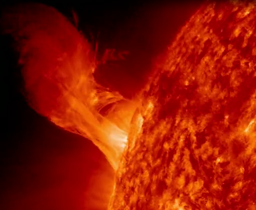 Flare captured by SDO 12_31_12