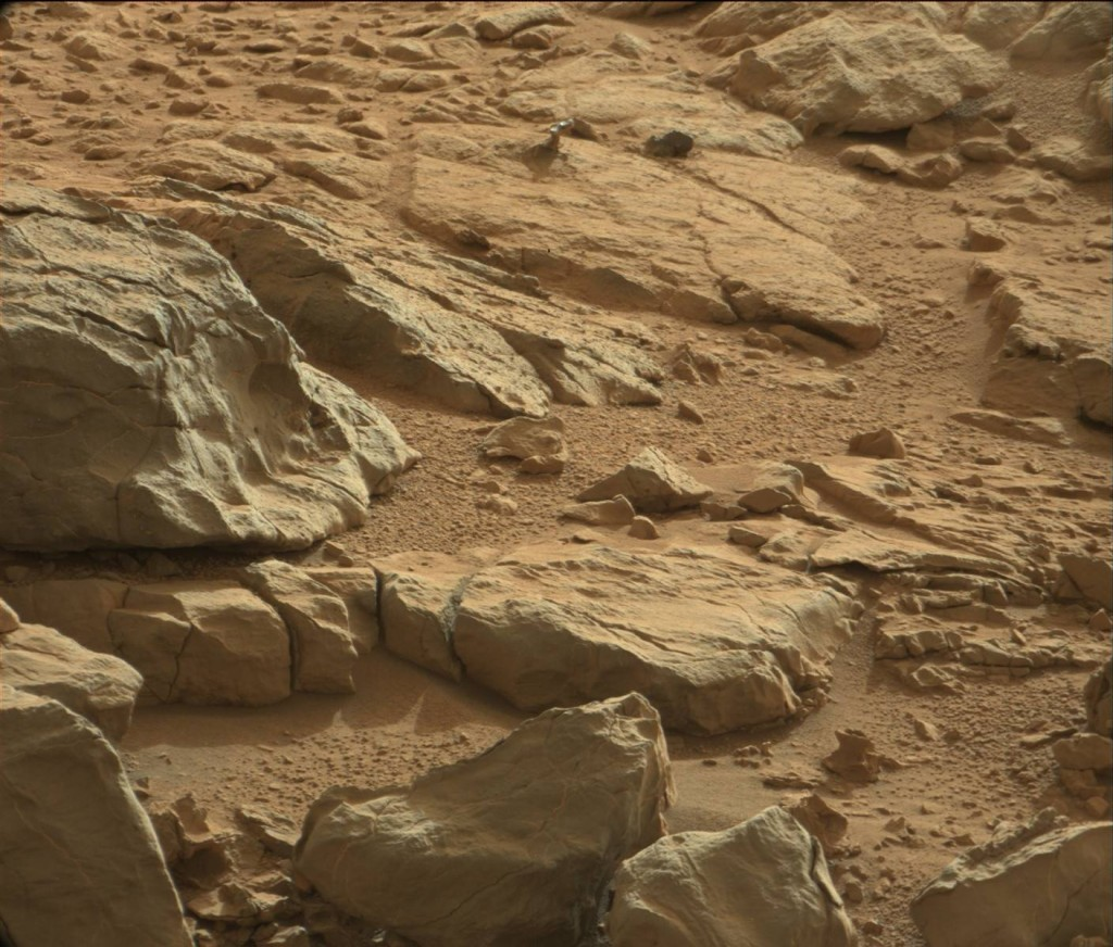 mars shiney rock