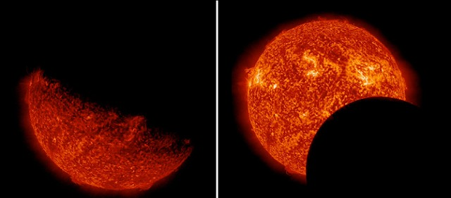 SDO Earth Eclipse