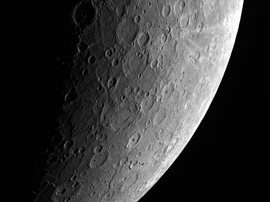 Mercury. Imaged by MESSENGER