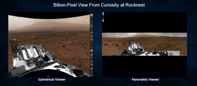NASA/JPL Mars Billion Pixel Viewer