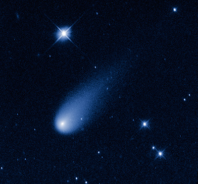 Hubble image of Comet ISON May, 2013