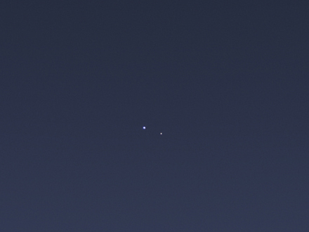 earth and moon from Saturn