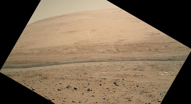 Mars from Curiosity rover