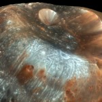 Stickney Crater, on Phobos