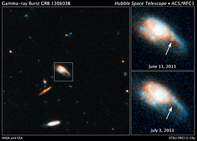 Gamma Ray Burst 130603B