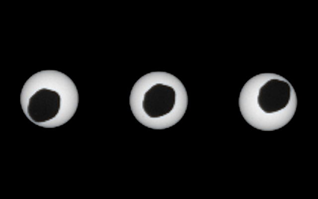 Annular Eclipse of the Sun by Phobos