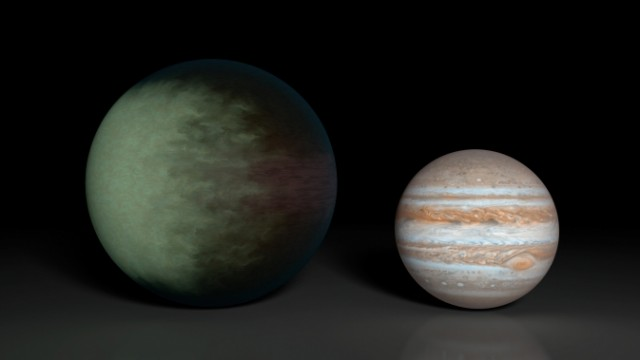 Kepler 7b and Jupiter