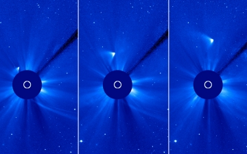 ISON appears