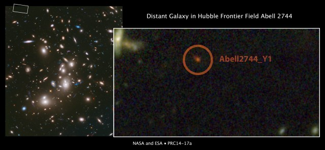 one of the most distant galaxies i