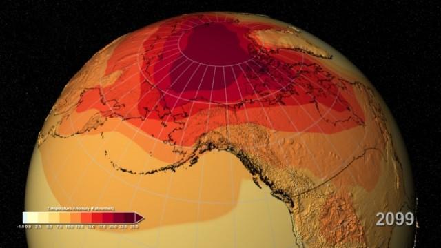 Earth's future warming