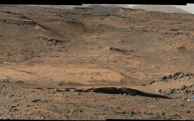 Mars Curiosity rover has reached the Red Planet's Mount Sharp