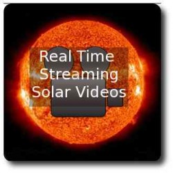 Latest real time videos of the sun