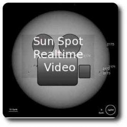 Real time Sun Sopt Video