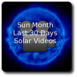 30 day long videos of the sun