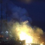 Rocket Explosion on Wallops launch pad 10/28/14