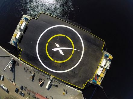 SpaceX Sea Platform