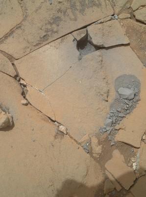 Mars Drill test