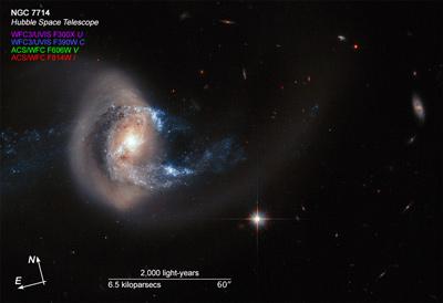 galaxy NGC 7714