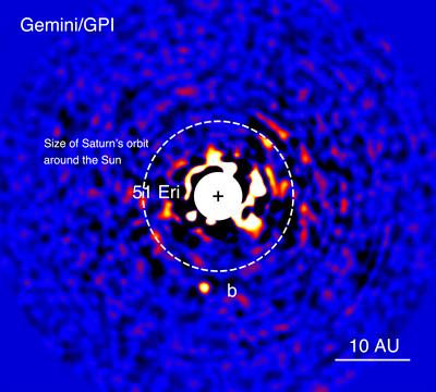 extrasolar planet 51 Eridani b