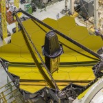 James Webb Space Telescope Mirror in the clean room