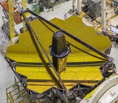James Webb Space Telescope Mirror in the clean room