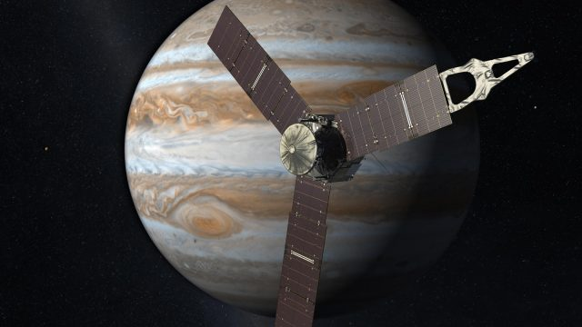 Juno Spacecraft - Credit NASA